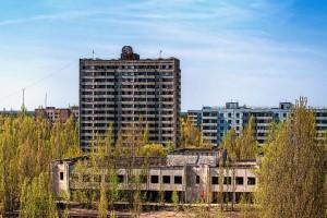 ingress_image Вид из гостиницы «Полесье». Припять, 2012.