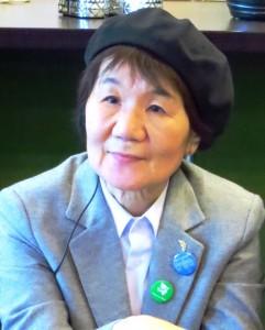 Щизуко Митамура 9 августа 1945 года подверглась воздействию атомного взрыва в городе Нагасаки в возрасте 3 лет и 8 месяцев.