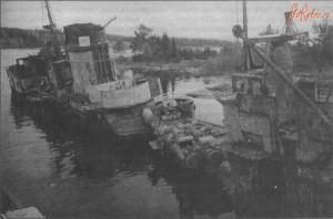 Несамоходное опытовое судно «Кит», 1991 год.