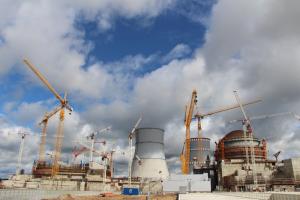 Строительство второй Ленинградской АЭС идёт с 2007 года.
