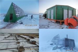 Установка оборудования в поселке Пялица.