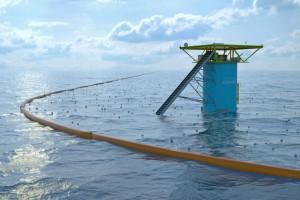 Устройство для сбора мусора в океане, изобретенное Бойяном Слататом.