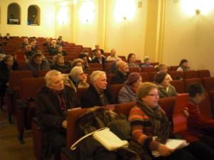 Участники слушаний 21 января 2015 года.
