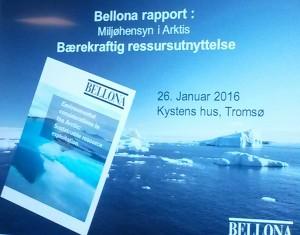"""Презентация Арктического доклада """"Беллоны"""" в Тромсе, Норвегия"""