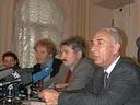 Пресс-конференция в Москве за день до начала заседания Президиума Верховного суда.
