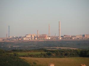 la Hague nuclear fuel reprocessing plant