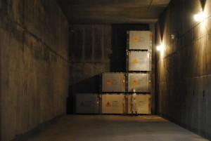 Контейнеры с радиоактивными отходами уже размещаются в «первом пусковом комплексе» нового хранилища.