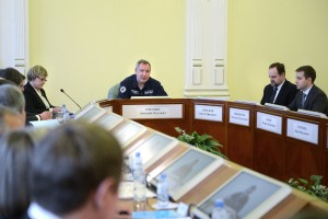 Рабочая поездка вице-премьера РФ Д. Рогозина в Мурманск