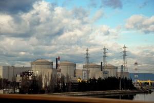 АЭС Трикастен, Франция.