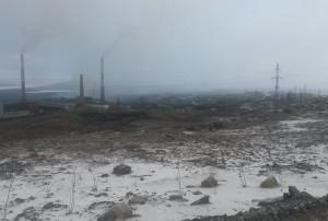 Промышленная площадка Никель.