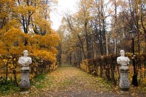 Парк Кусково, Москва.