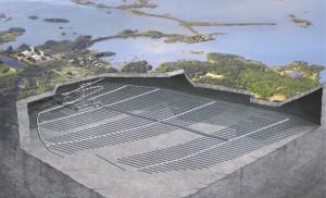 Проект создания глубинного ПЗРО в Швеции приостановлен.