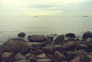Kanonerskiy island Gulf of Finland