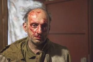 Руководитель программы Гринпис России по особо охраняемым природным территориям Михаил Крейндлин после нападения.