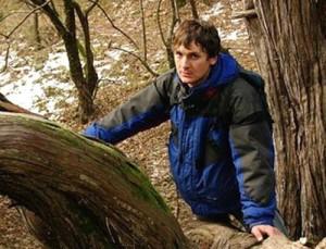 Заместитель координатора Эковахты по Северному Кавказу Дмитрий Шевченко, у которого сегодня прошел обыск.