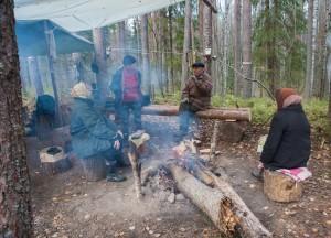 Sunskiy bor camp