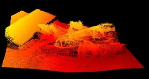 3D модель затонувших судов в Кольском заливе
