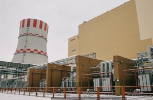 Внешний вид машзала энергоблока №6 НВ АЭС (16 ноября 2016 г.)
