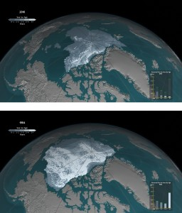 CLIMATE ice arctic