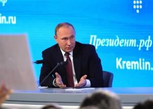 Vladimir Putin press-conference