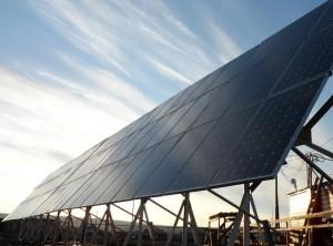 Солнечная электростанция в Якутии.