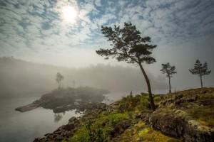 Ladoga lake Valaam