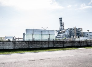 Чернобыльская АЭС.