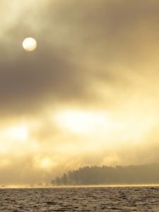 Kurgalskiy sunrise