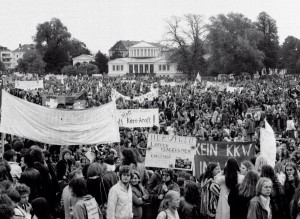 Становление антиядерного движения в Германии. Демонстрация в Бонне, 14 октября 1979 года.
