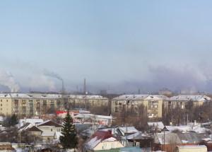 Челябинск. Смог.