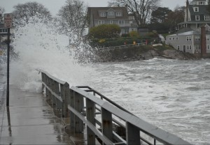 Потоп во время урагана Сэнди. Нью-Йорк.