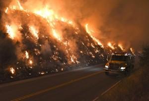 Land fire