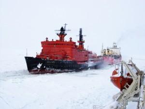 Атомный ледокол «Арктика».
