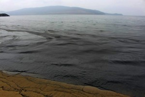 Nakhodka bay black sea coal