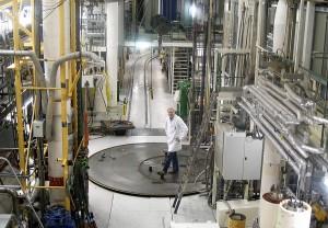 Внутри реактора Халден