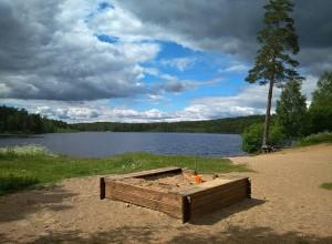 Пасторское озеро, Ленинградская область.