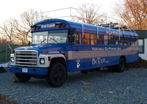 BioTour's Vegetable Oil-Powered Bus