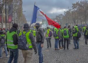 yellow vests movement protests Paris