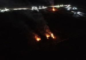 Poletaevo fire