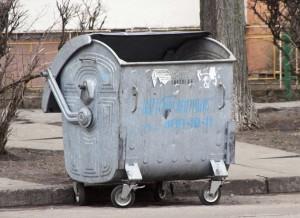 Rubbish tank waste trash