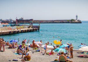 Yalta beach