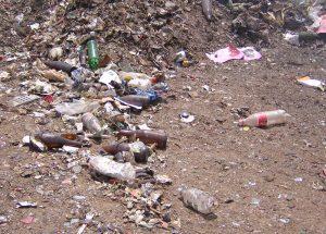 landfill waste dump