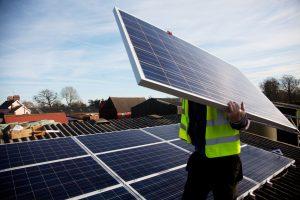 Solar Panels on Grange farm