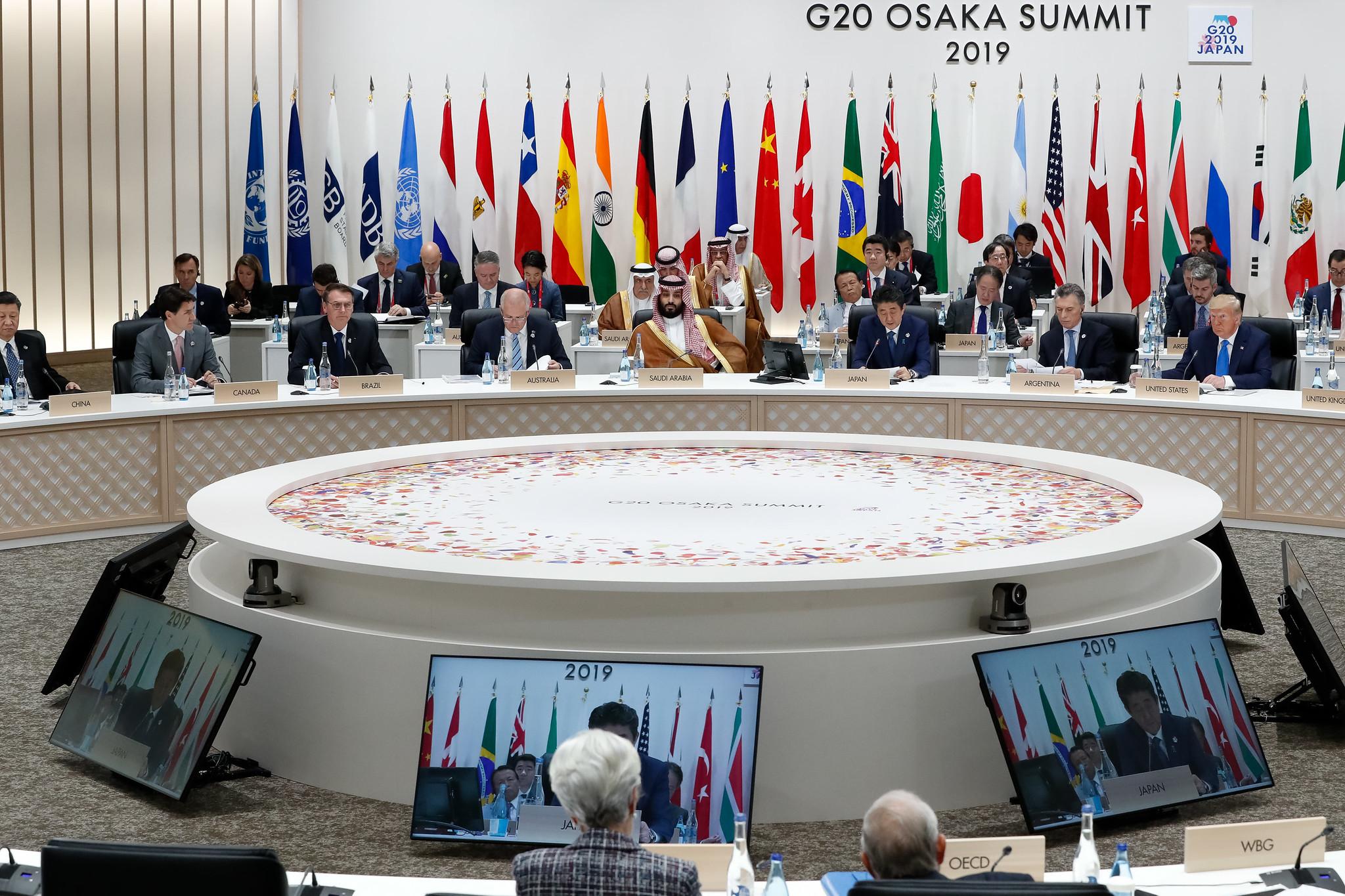 29/06/2019 G20 )saka summit