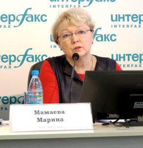 Marina Mamaeva Interfax