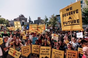 climate strike fridays for future
