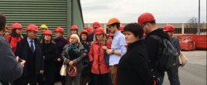 г.Вена Российские эксперты На мусоросжигальном заводе