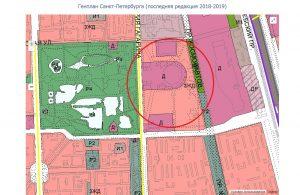 saint petersburg genplan 2019 skk