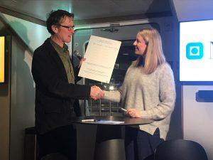 Илко Лиман и Агнес Арнадоттир - подписанное Обязательство