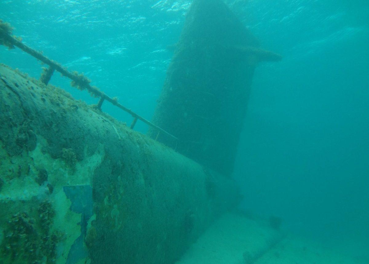 Корпус АПЛ К-27, снятый в 2012 году мини-подводной лодкой
